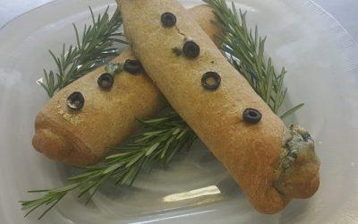 Flauto integrale con verdure di stagione al forno